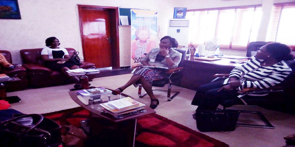 Courtesy Visit by Dr. Eyiwumi Olayinka