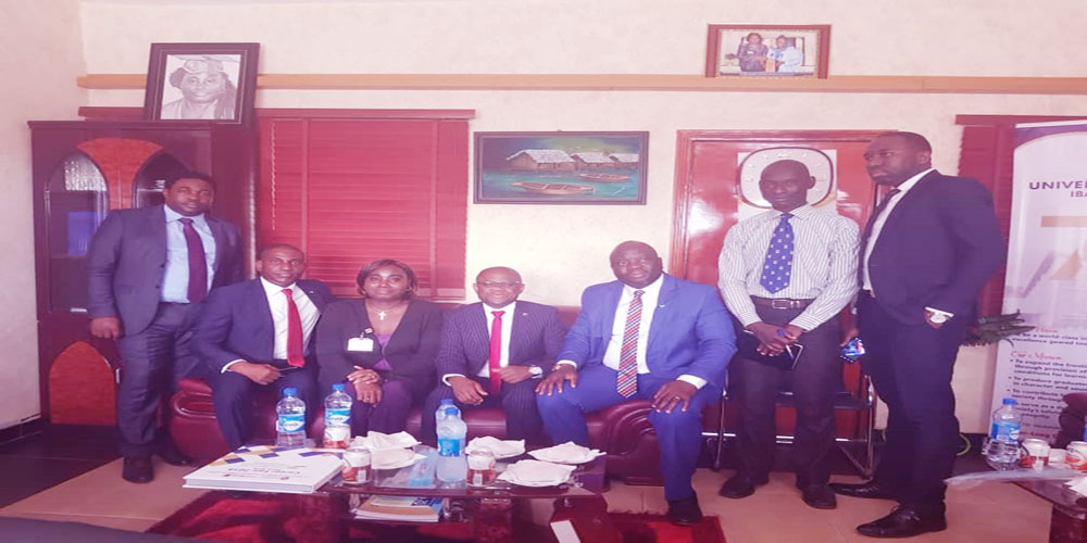 DVC (RISP) and a team from Fidelity Bank